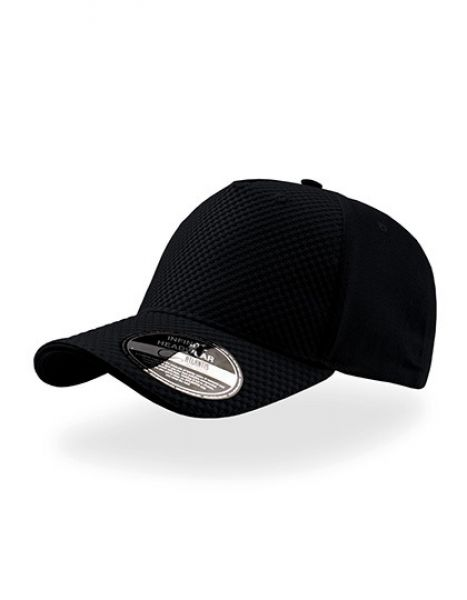 Gear - Baseball Cap - Caps - 5-Panel-Caps - Atlantis Black