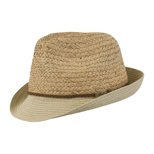 CHILLOUTS Ottawa Hat in Natur S/M | Herrenhut Fedora Trilby Hut | Sommerhut