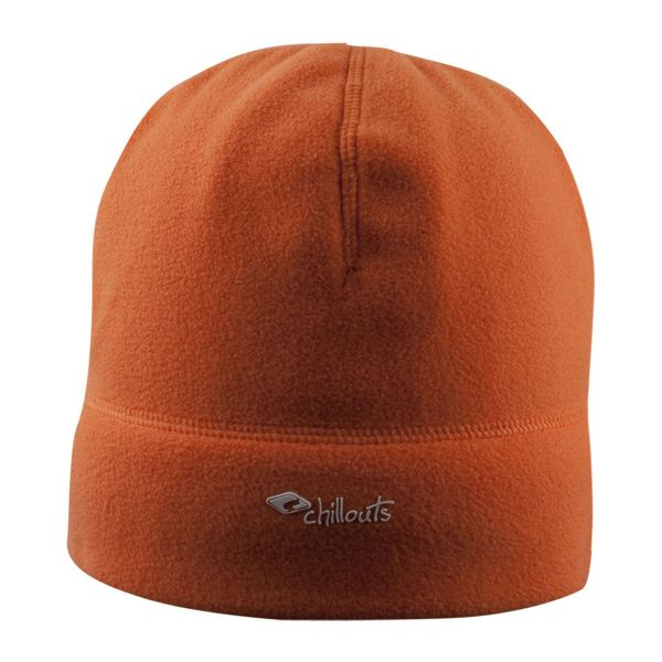 CHILLOUTS Freeze Fleece Hat Wintermütze in Orange | Strickmütze