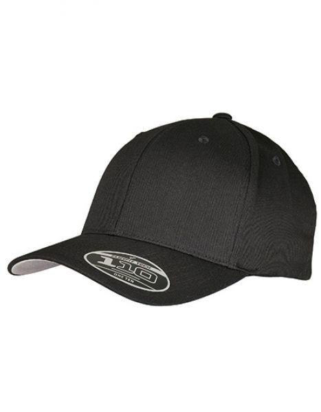 Flexfit Wooly Combed Adjustable Cap - FLEXFIT Black