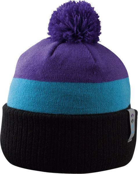 CHILLOUTS Frankie Kid Hat Kindermütze | Wintermütze in Schwarz / Blau / Lila