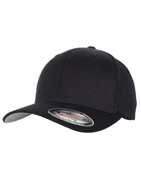 Flexfit Wool Blend Cap - FLEXFIT Black