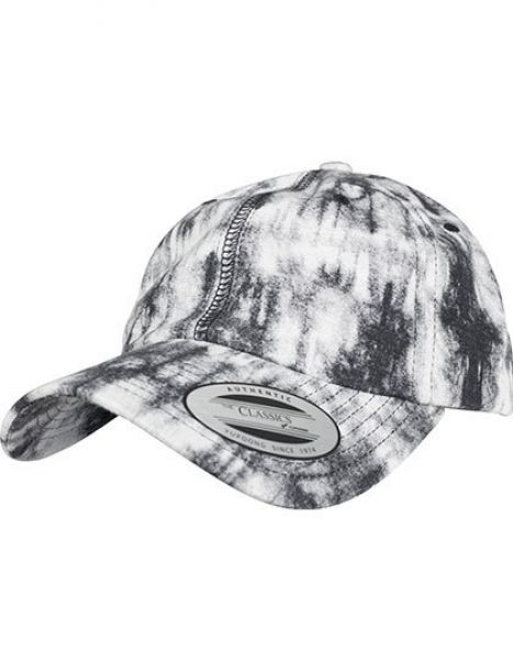 Low Profile Tie Dye Cap - Caps - 6-Panel-Caps - FLEXFIT Grey