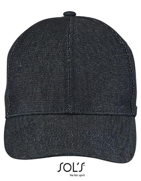 Unisex Denim Cap Foxy - Caps - 6-Panel-Caps - SOL´S Denim Brut