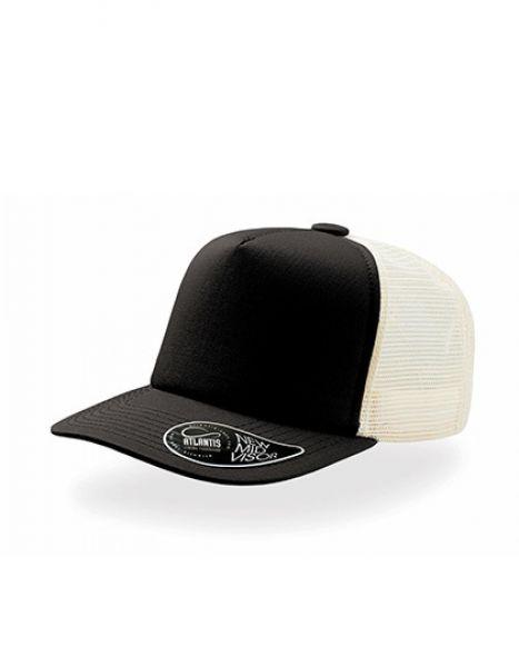 Record - Trucker Cap - Caps - Netz- & Sport-Caps - Atlantis Black