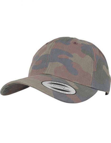 Low Profile Cotton Camo Cap - Caps - Camouflage-Caps - FLEXFIT Wood Camo