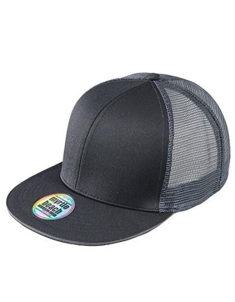 Pro Cap Mesh 6 Panel - Caps - 6-Panel-Caps - Myrtle beach Black - Charcoal