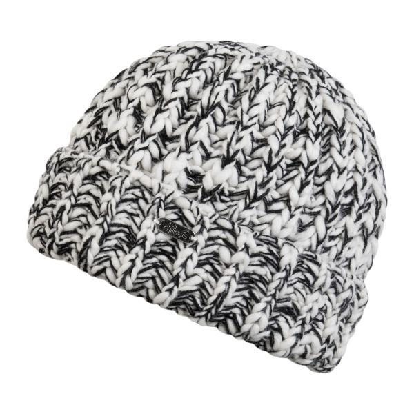 CHILLOUTS Paco Hat Herren Beanie Mütze in schwarz weiß Wintermütze