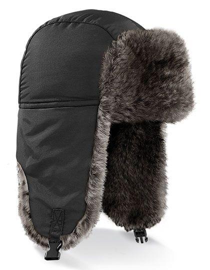 Sherpa Hat - Winteraccessoires & Mützen - Mützen - Beechfield Black