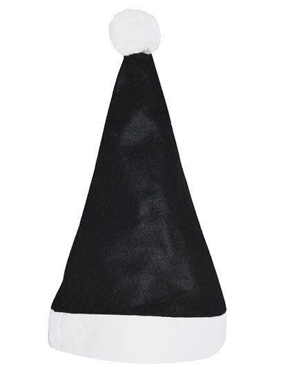 Christmas Hat - Nikolaus Mütze - Winteraccessoires & Mützen - Mützen - Printwear Black - White