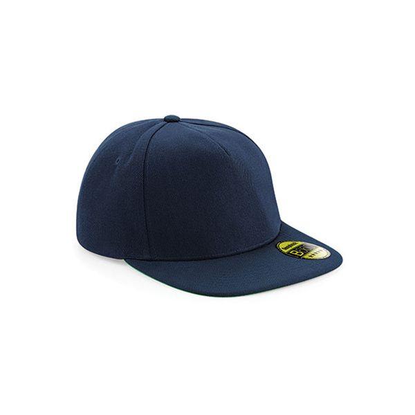 Unisex 5-Panel Cap DunkelblauDunkelblau Snapback Cap Mütze