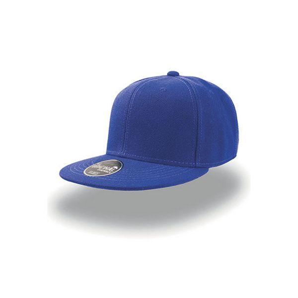 Unisex 6-Panel Cap Blau Snapback Cap Mütze