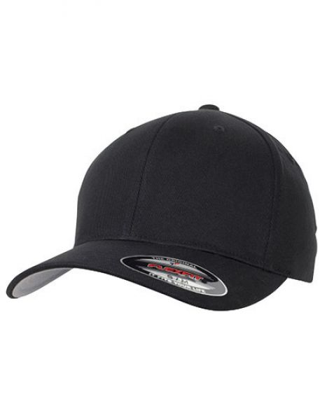 Flexfit Brushed Twill Cap - FLEXFIT Black