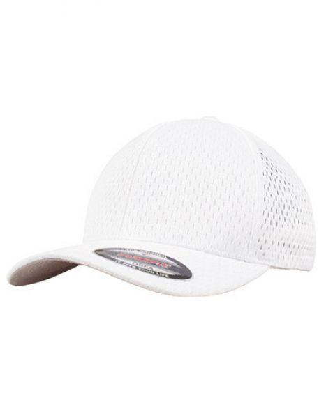 Flexfit Athletic Mesh Cap - FLEXFIT White