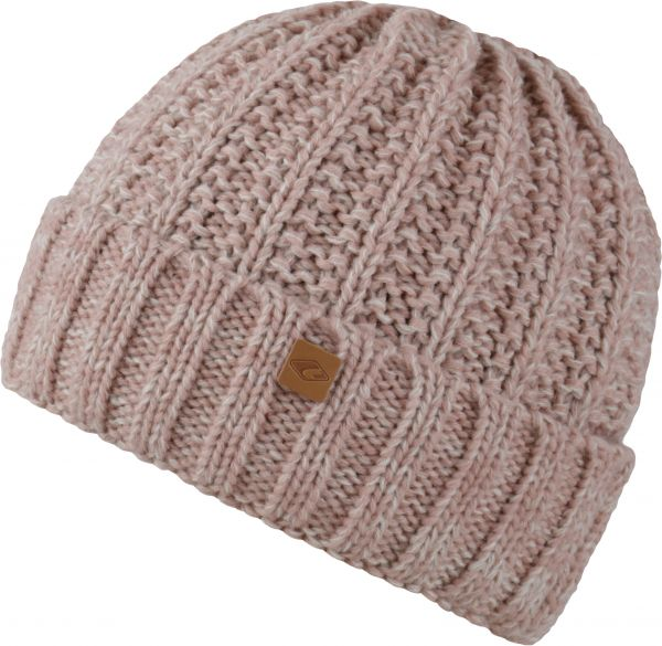 CHILLOUTS Joel Hat Wintermütze in Rose Melange | Strickmütze