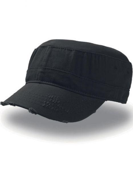 Urban Destroyed Cap - Caps - Cuba Caps - Atlantis Black