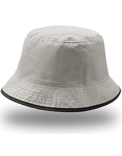 Bucket Pocket Hat - Caps - Hüte - Atlantis Black - Grey
