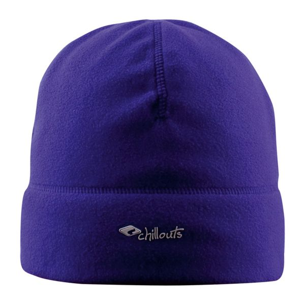 CHILLOUTS Freeze Fleece Hat Wintermütze in Violett | Strickmütze