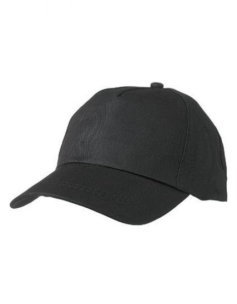 5 Panel Promo Cap - Caps - 5-Panel-Caps - Myrtle beach Black