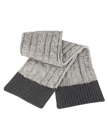 Shades of Grey Knitted Scarf - Winteraccessoires & Mützen - Schals - Result Winter Essentials Grey