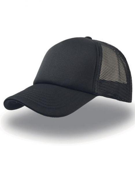 Rapper Cap - Caps - Netz- & Sport-Caps - Atlantis Black - Black - Black