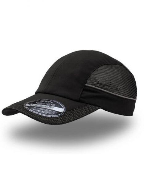 Runner Cap - Caps - Netz- & Sport-Caps - Atlantis Black