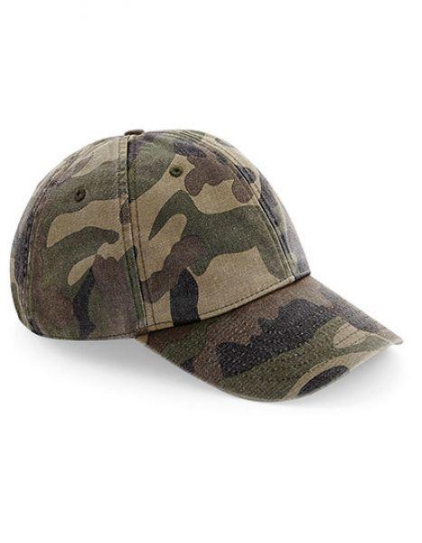 Low Profile Vintage Cap - Caps - 6-Panel-Caps - Beechfield Vintage Jungle Camo