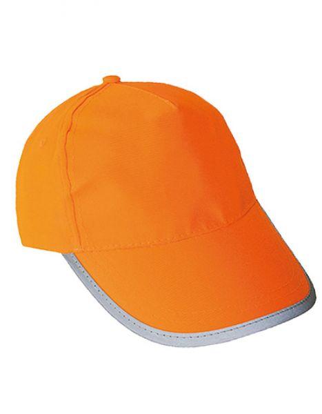 Hi-Viz-, Fluo-Cap - Caps - Sicherheits-Caps - Korntex Signal Orange