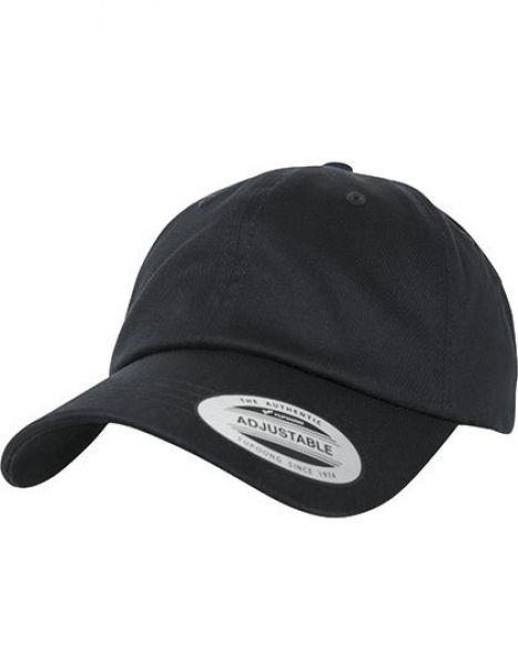 Low Profile Organic Cotton Cap - Caps - FLEXFIT Black