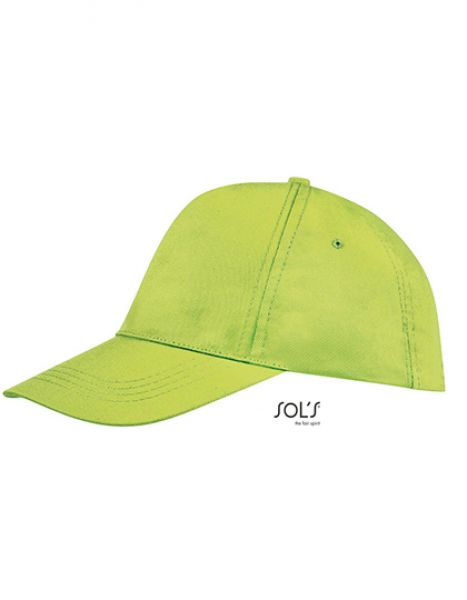 Five Panel Cap Buzz - Caps - 5-Panel-Caps - SOL´S Apple Green