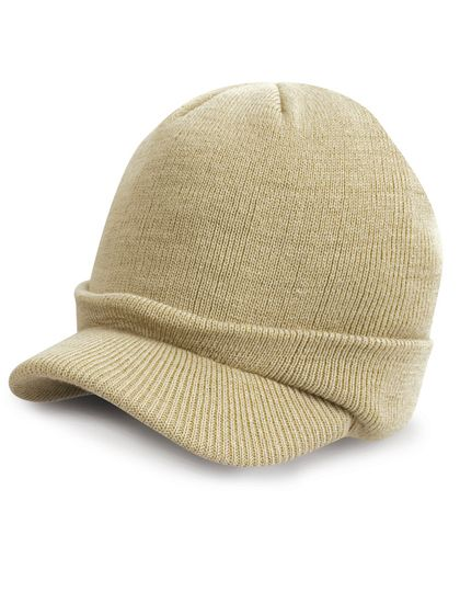Esco Army Knitted Hat - Winteraccessoires & Mützen - Mützen - Result Winter Essentials Desert Khaki