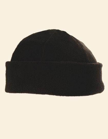 Fleece Winter Hat - Winteraccessoires & Mützen - Mützen - Printwear Black
