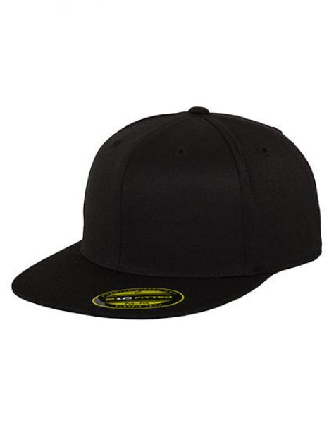 Premium 210 Fitted - Caps - 6-Panel-Caps - FLEXFIT Black