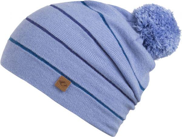 CHILLOUTS Ciro Kid Hat Kinder Bommel Mütze in Blau Wintermütze