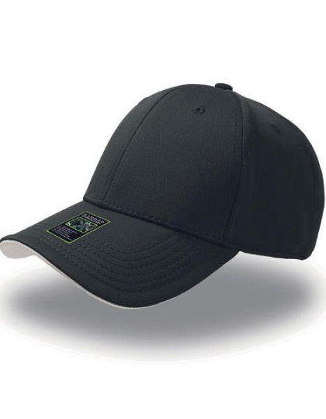 Green House Cap - Caps - 6-Panel-Caps - Atlantis Black - Grey