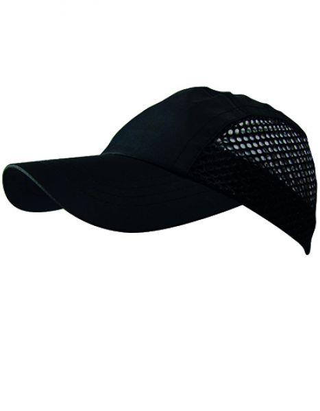 Funktions-Cap - Caps - Netz- & Sport-Caps - Oltees Black