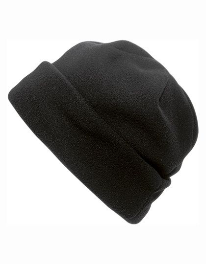 Fleece Mütze Bonneti - Winteraccessoires & Mützen - Mützen - Printwear Black