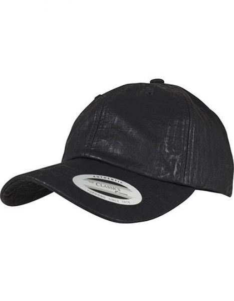 Low Profile Coated Cap - Caps - 6-Panel-Caps - FLEXFIT Black