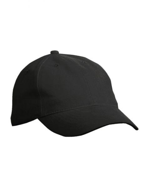 6 Panel Softlining Raver Cap - Caps - 6-Panel-Caps - Myrtle beach Black
