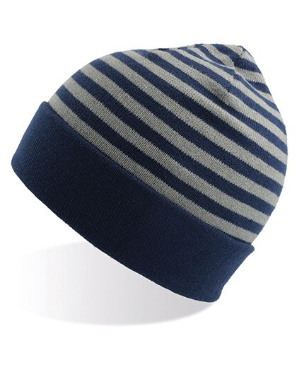 Kids` Playground Beanie - Winteraccessoires & Mützen - Mützen - Atlantis Navy - Grey