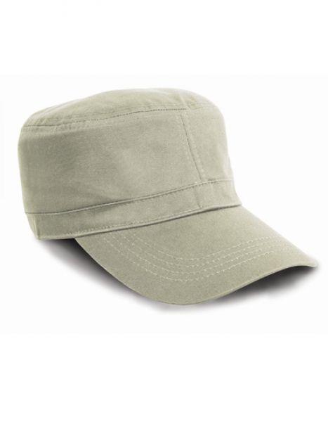 Urban Trooper Fully Lined Cap - Caps - 3-Panel-Caps - Result Headwear Desert Khaki