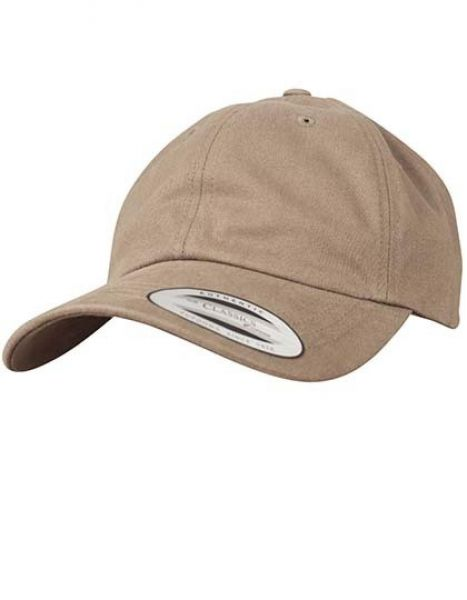 Peached Cotton Twill Dad Cap - Caps - 6-Panel-Caps - FLEXFIT Loden