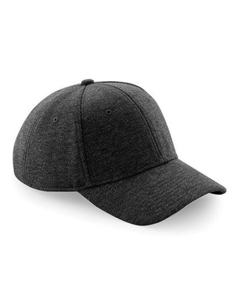 Jersey Athleisure Baseball Cap - Caps - Netz- & Sport-Caps - Beechfield Heather Graphite