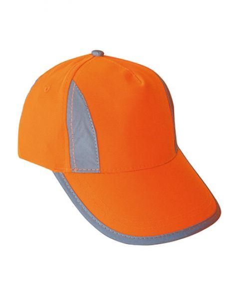 Premium High Visibility Cap for Kids - Caps - Sicherheits-Caps - Korntex Signal Orange