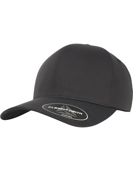 Flexfit Delta Adjustable - Caps - FLEXFIT Black