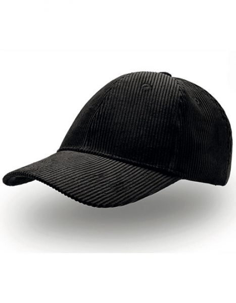 Cordy Cap - Caps - 6-Panel-Caps - Atlantis Black