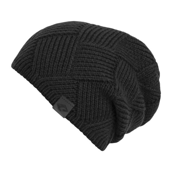CHILLOUTS Maik Hat Herren Beanie Mütze in schwarz Wintermütze