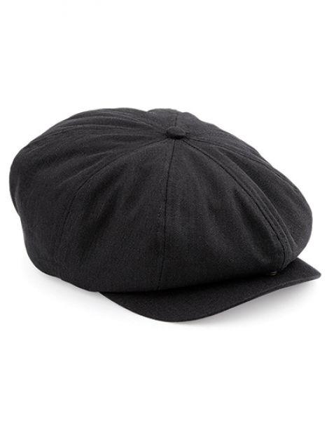 Newsboy Cap - Caps - 5-Panel-Caps - Beechfield Black