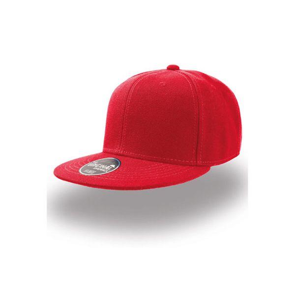 Unisex 5-Panel Cap Rot Snapback Cap Mütze Kids