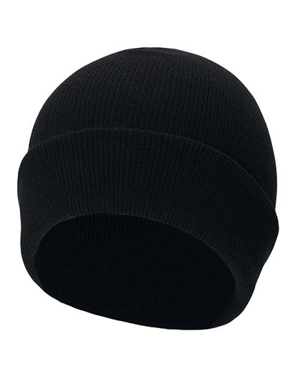 Knitted Beanie - Korntex Black